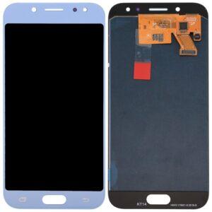Sprednje nadomestno steklo za Samsung (J730) Galaxy J7 (2017) Blue Silver