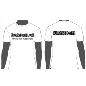 Promocijska moška majica Mobitrgovina - Bela