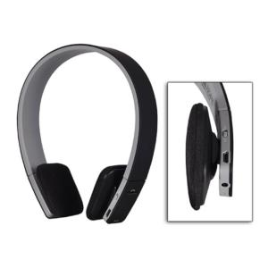 AEC Bluetooth stereo Slušalke z mikrofonom Črne
