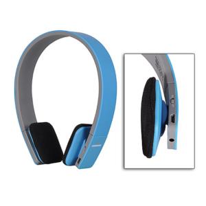 AEC Bluetooth stereo Slušalke z mikrofonom Modre