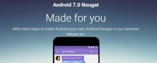 Kdaj lahko pričakujete Android 7.0 Nougat na vašem telefonu?