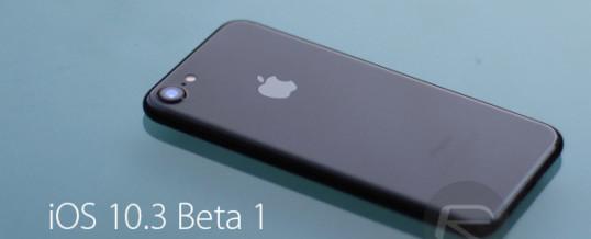 Novi iOS 10.3 bo povsem spremenil delovanje Applovih mobilnih naprav