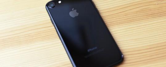 Ne mečite stran denarja za iPhone 7 Jet Black