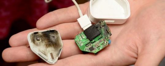 """Več kot 99 % vseh """"ponarejenih"""" iPhone polnilcev ni varnih"""