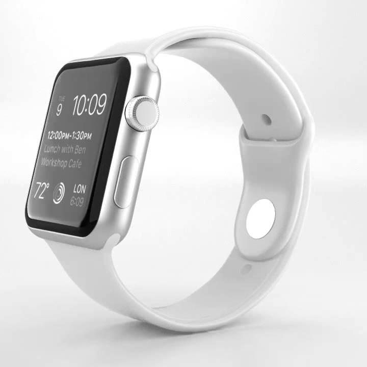 Apple Watch Sport 38mm Silver/White