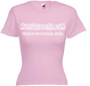 Promocijska ženska majica Mobitrgovina
