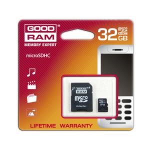 GOODRAM MicroSD 32GB kartica z adapterjem Class 10