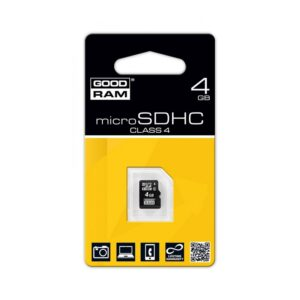 GOODRAM MicroSD 4GB kartica brez adapterja Class 4
