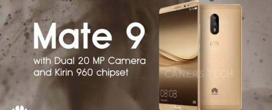 Pametni telefon Huawei Mate 9 ne skriva svojih ambicij in moči