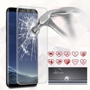 Zaščitno steklo (kaljeno steklo) za Samsung G950 Galaxy S8 Full Cover Super Clear
