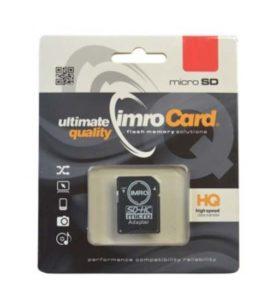 IMRO MicroSD 16GB kartica z adapterjem Class 10