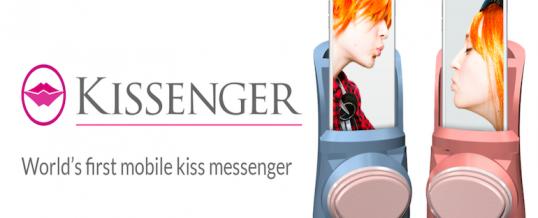 Kissenger: Naprava, ki omogoča pošiljanje poljubov na daljavo