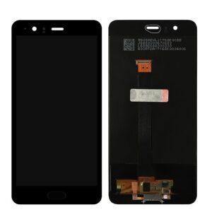 Sprednje nadomestno steklo za Huawei P10 + LCD Black