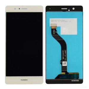 Sprednje nadomestno steklo za Huawei Ascend P9 Lite + LCD zlate barve