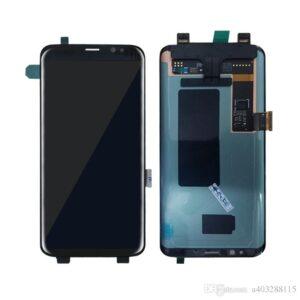 Sprednje nadomestno steklo za Samsung (G955) Galaxy S8 Plus Black