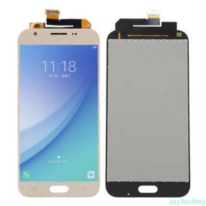 Sprednje nadomestno steklo za Samsung (J330) Galaxy J3 (2017) Gold