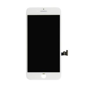 Sprednje nadomestno steklo za Apple Iphone 7 + LCD bele barve