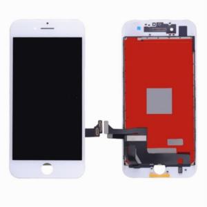 Sprednje nadomestno steklo za Apple Iphone 7 Plus + LCD bele barve