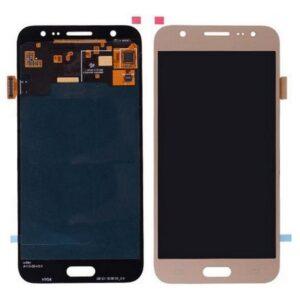 Sprednje nadomestno steklo za Samsung (J710) Galaxy J7 (2016) Gold