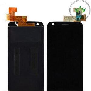 Sprednje nadomestno steklo za LG (H850) G5 + LCD črne barve