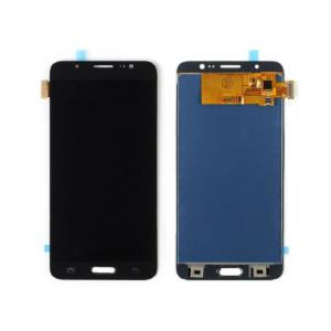 Sprednje nadomestno steklo za Samsung (J710) Galaxy J7 (2016) Black