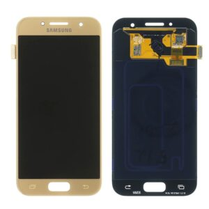 Sprednje nadomestno steklo za Samsung (A320) Galaxy A3 (2017) Gold