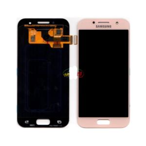 Sprednje nadomestno steklo za Samsung (A320) Galaxy A3 (2017) Pink