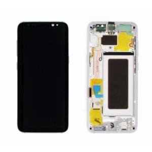 Sprednje nadomestno steklo za Samsung (G950) Galaxy S8 Arctic Silver