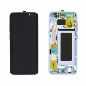 Sprednje nadomestno steklo za Samsung (G955) Galaxy S8 Plus Blue