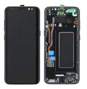 Sprednje nadomestno steklo za Samsung (G955) Galaxy S8 Plus Violet