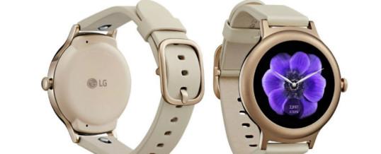 LG Watch Style: Zanimiva pametna ročna ura s platformo Android Wear 2.0