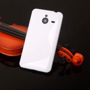 Gumirani zaščitni ovitek (TPU) S-Line za Microsoft Lumia 640XL White