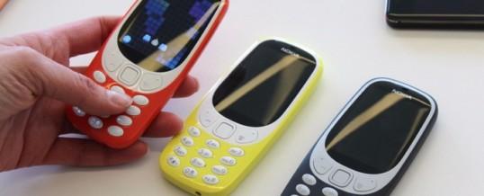 Legendarna Nokia 3310 ponovno med nami!