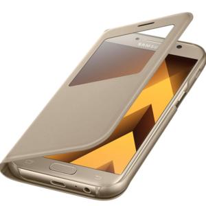Originalna preklopna torbica za Samsung Galaxy A5 (A520F) 2017 (ef-ca520pfegww) Gold