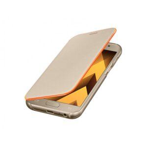 Original zaščitna preklopna torbica Samsung A3 (2017) Galaxy A320 (ef-fa320pfeg) Gold