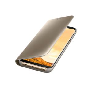 Original zaščitna preklopna torbica za Samsung Galaxy N950 Note 8 Clear View (ef-zn950cfe) Gold