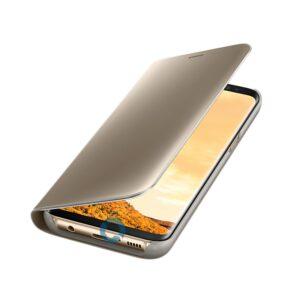 Original zaščitna preklopna torbica za Samsung Galaxy G950 S8 Clear View (ef-zg950cfe) Gold