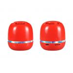 Bluetooth prenosni mini zvočnik Rdeč