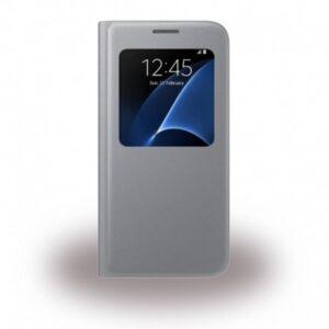 Originalna pametna preklopna torbica Samsung Galaxy S7 G930 (EF-CG930PSE) Silver