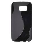 Gumirani zaščitni ovitek (TPU) S-Line Samsung G925 Galaxy S6 Edge