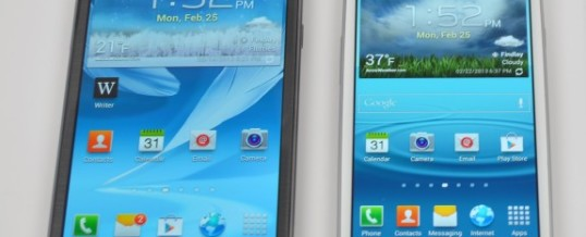 Android 4.4 KitKat kmalu za Samsung Galaxy S3 in Note 2!