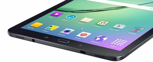 Tablica Galaxy Tab S2 s širšim zaslonom!
