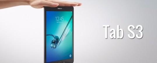 Samsung naj bi v kratkem predstavil Tablico Galaxy Tab S3