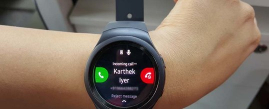 Nova verzija Tizen za lastnike ure Galaxy Gear S2