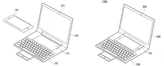 Samsung pripravil ohišje, ki pametni mobilni telefon prelevi v prenosnik
