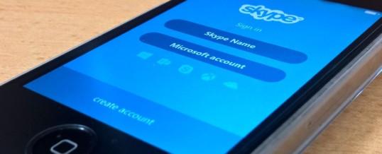 Eno sporočilo lahko zruši tudi Skype!