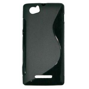 Gumirani zaščitni ovitek (TPU) za Sony Xperia M  NOV!!