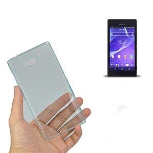 Gumirani zaščitni ovitek (TPU) Ultra Slim 0,3mm Sony Xperia M2