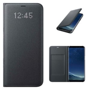 Originalna pametna preklopna torbica Samsung Galaxy (G955) S8 Plus (EF-NG955PBE) Black