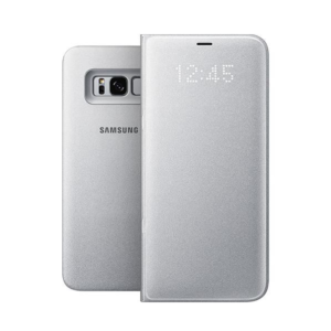 Originalna pametna preklopna torbica Samsung Galaxy (G955) S8 Plus (EF-NG955PSE) Silver